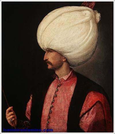 Kanuni Sultan Süleyman (I. Süleyman)